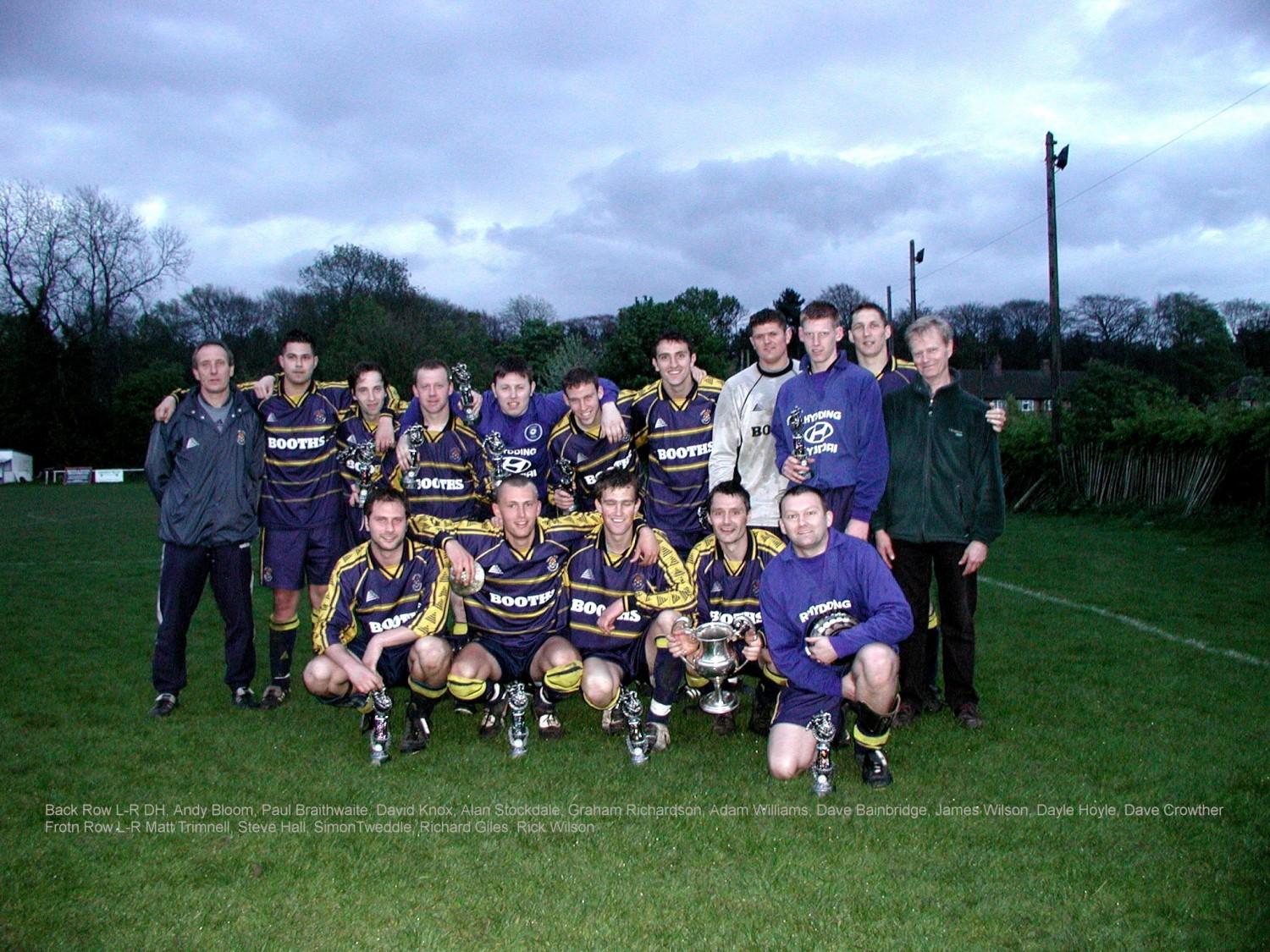 The evolution of Ilkley Town AFC