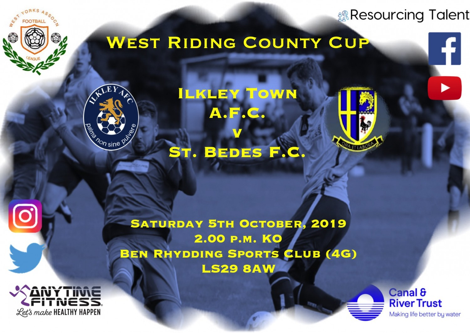 Match Preview: Ilkley Town AFC v St. Bedes FC