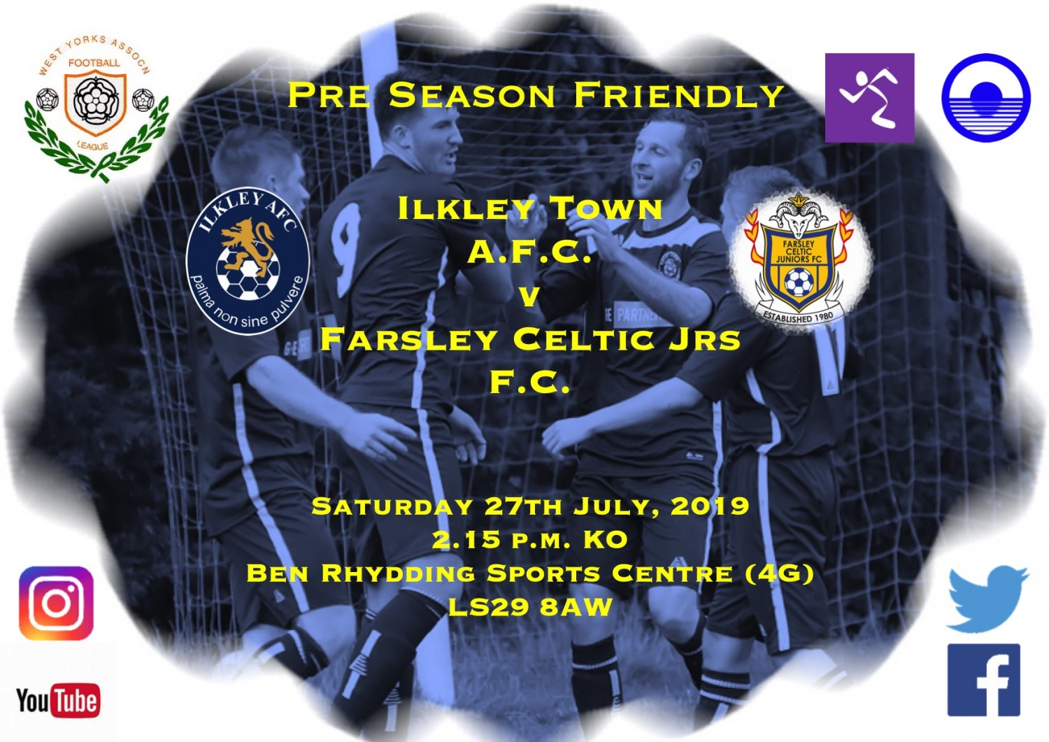 Match Preview: Ilkley Town v Farsley Celtic Jrs
