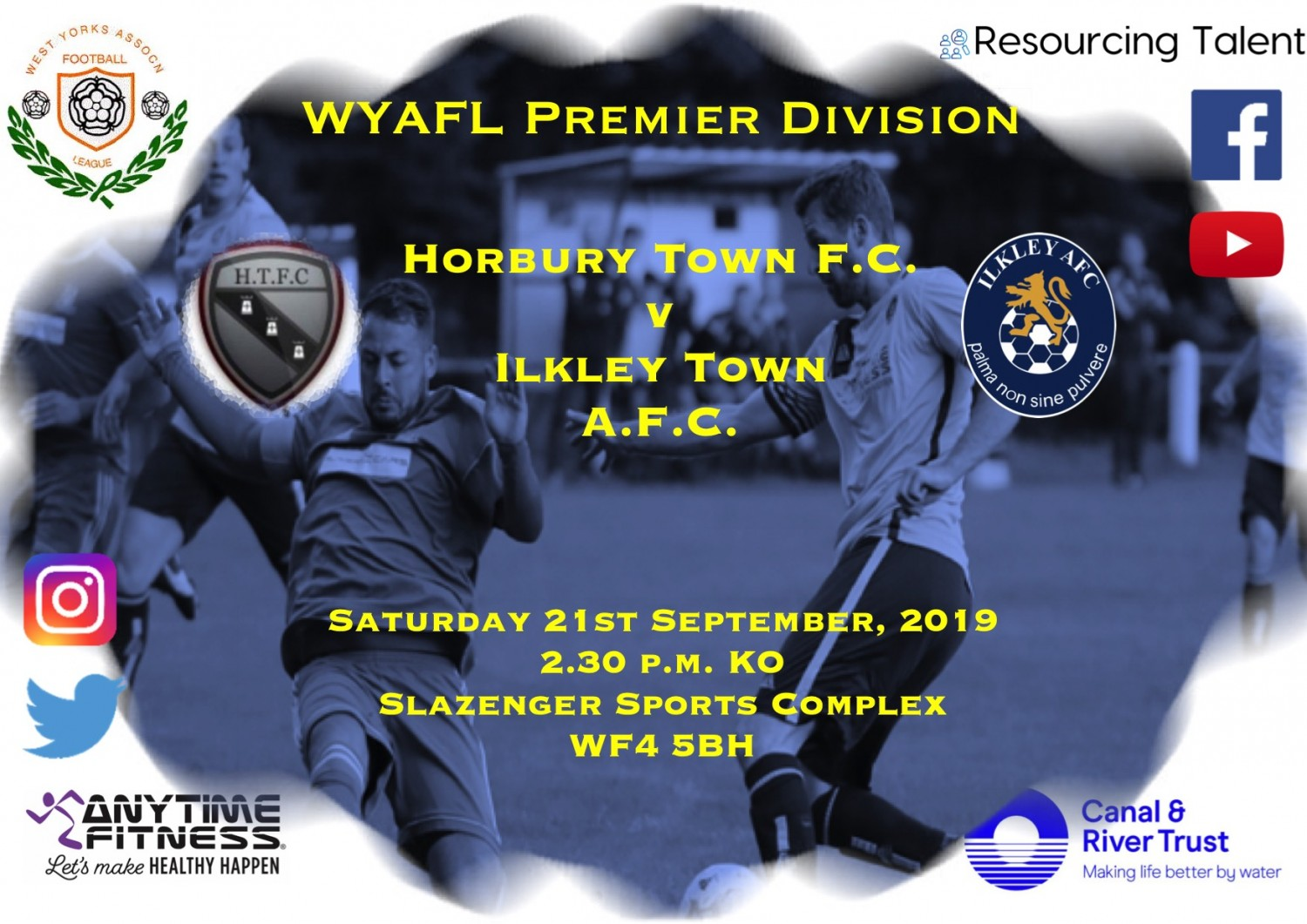 Match Preview: Horbury Town FC v Ilkley Town AFC