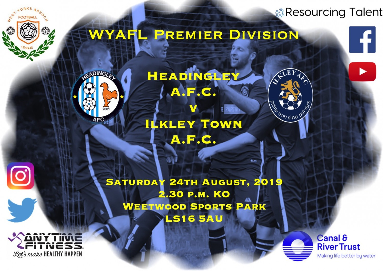 Match Preview: Headingley AFC v  Ilkley Town AFC