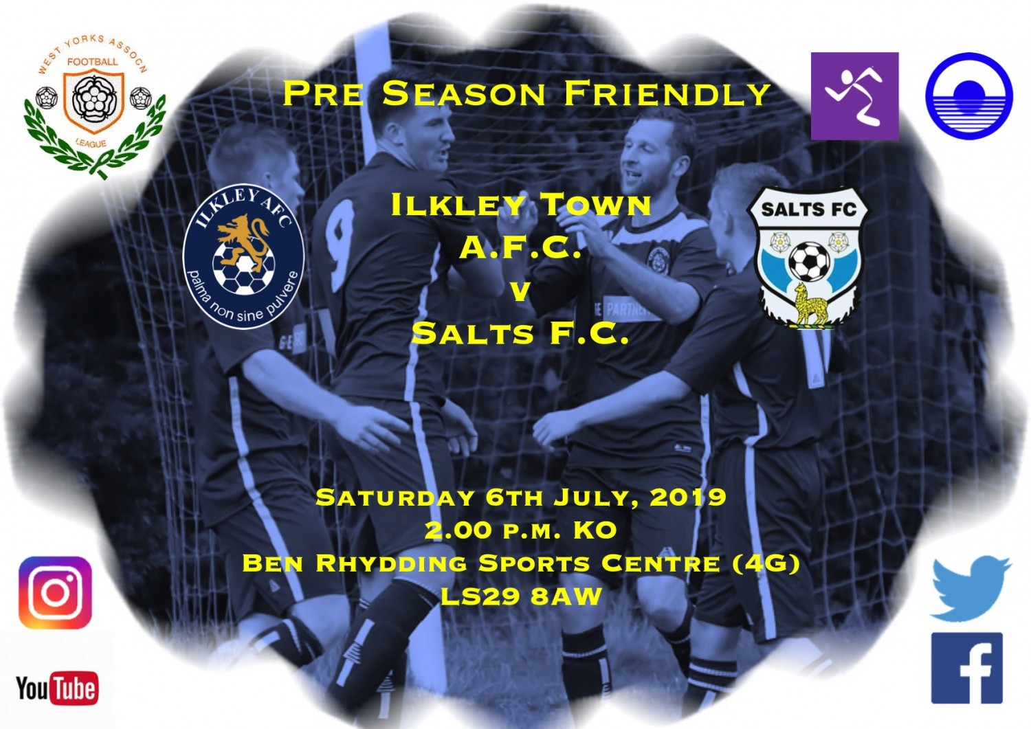 Match Highlights: Ilkley Town v Salts