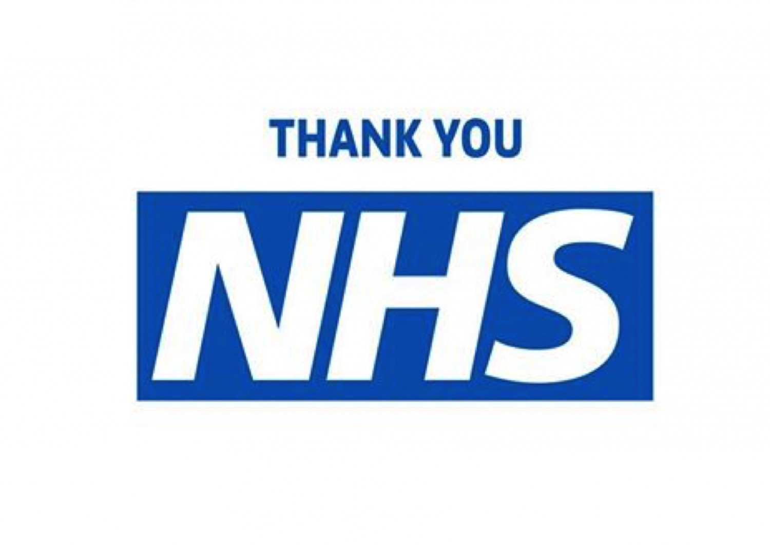 Appreciation for our amazing NHS.............