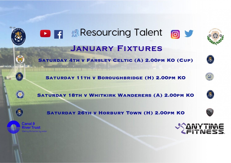 January fixtures..........