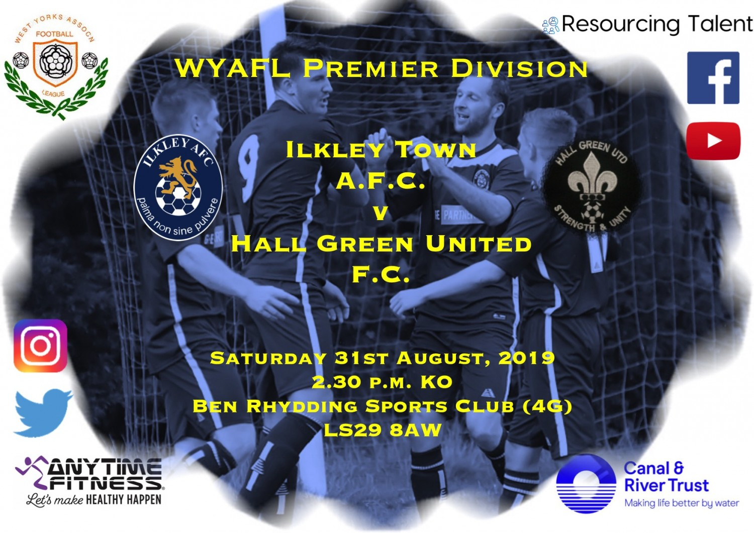 Match Preview: Ilkley Town v Hall Green