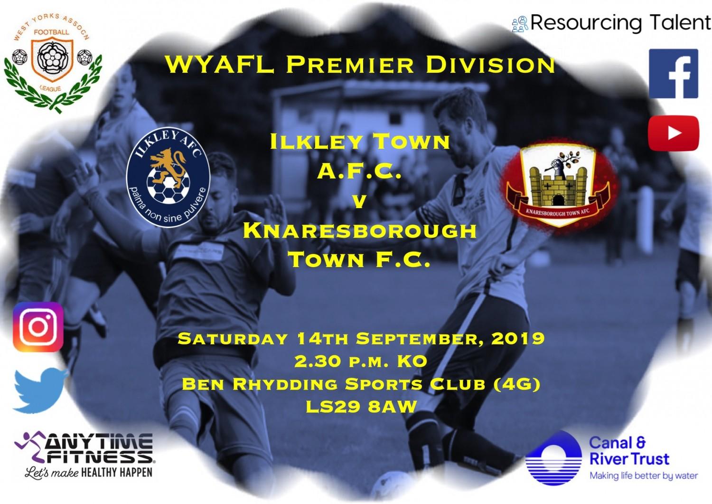 Match Preview: Ilkley Town AFC v Knaresborough Town FC