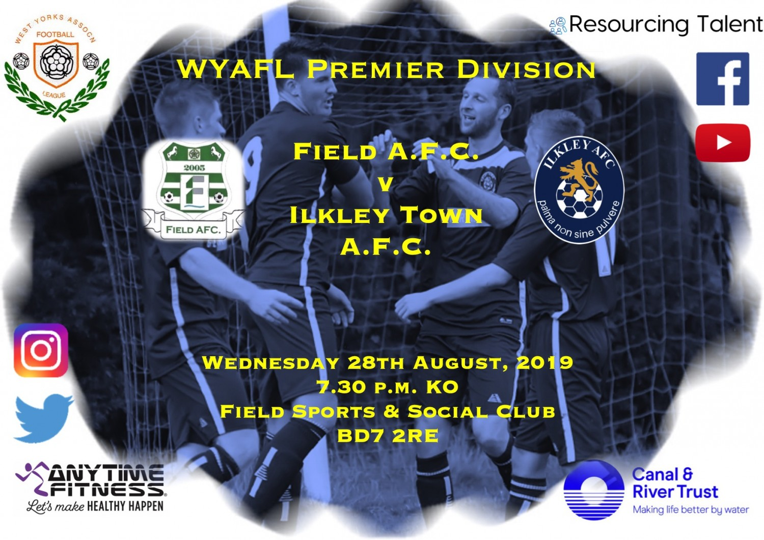 Match Preview: Field AFC v Ilkley Town AFC