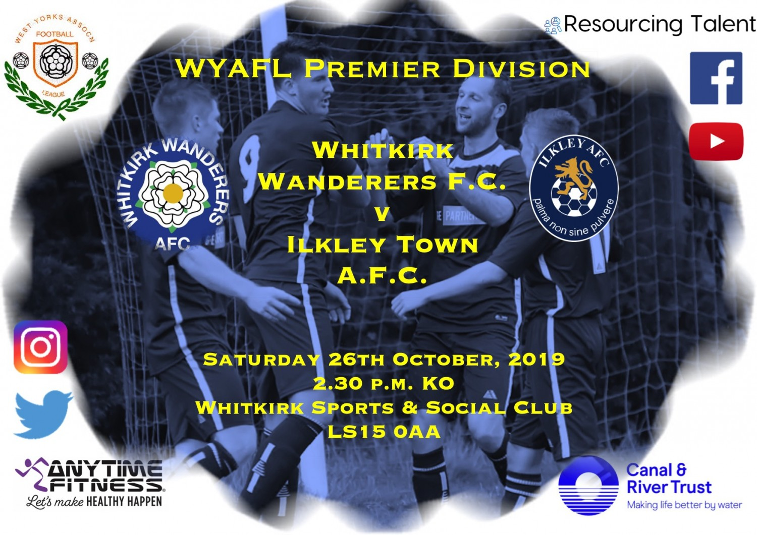 Match Preview: Whitkirk Wanderers FC v Ilkley Town AFC
