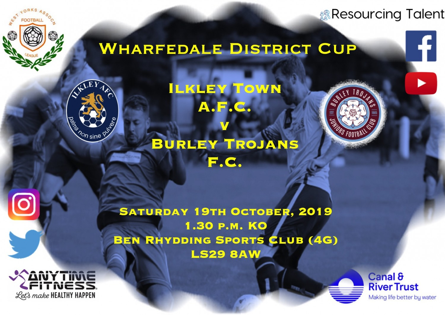 Match Preview: Ilkley Town AFC v Burley Trojans F.C.